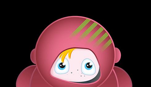 Astronaut Saskia